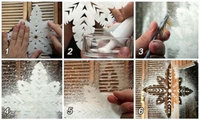 Украшения на стекла своими руками - Stan43.ru